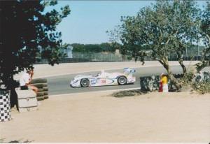 Champion Audi going into Corkscrew
