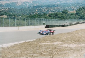 Panoz LMP 01 Flyby.  Amazing V8 rumble.
