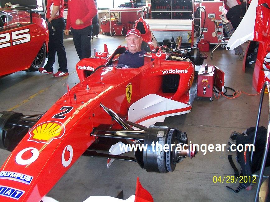 Ferrari F2003-GA Demonstration Laps from the 2004 Monterey ...